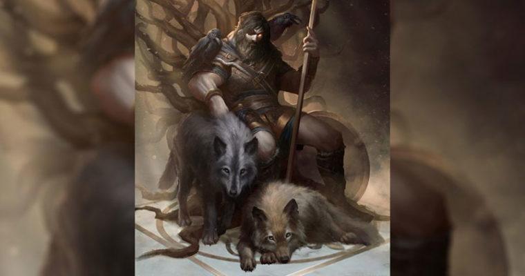 Волки Бога Одина – Гери и Фреки