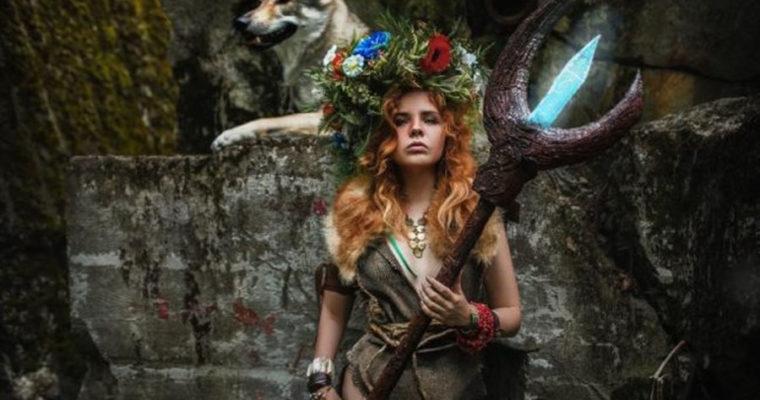 Волк и лесная фея