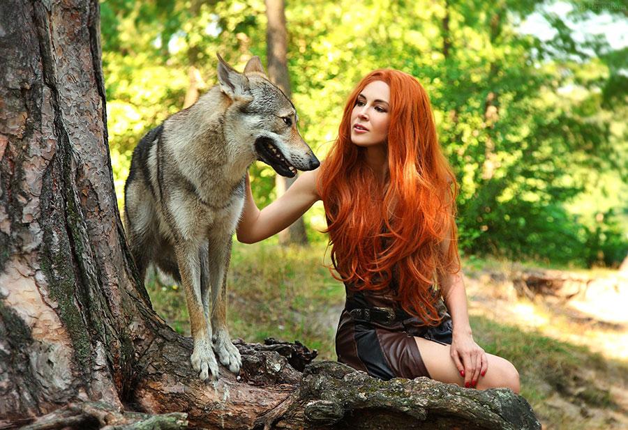 волк и рыжик