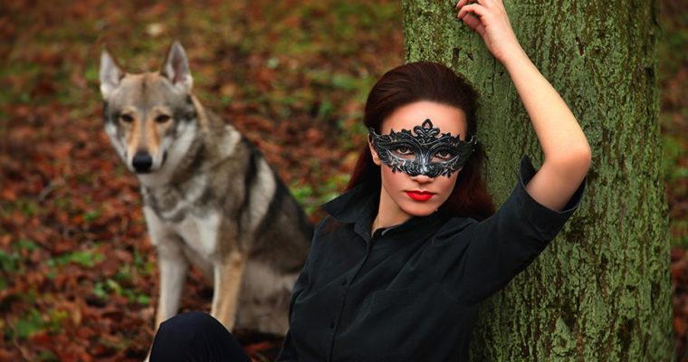 Волк и прекрасная незнакомка.