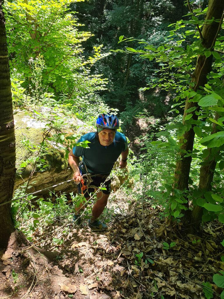 Спуск с горы методом Дюльфера