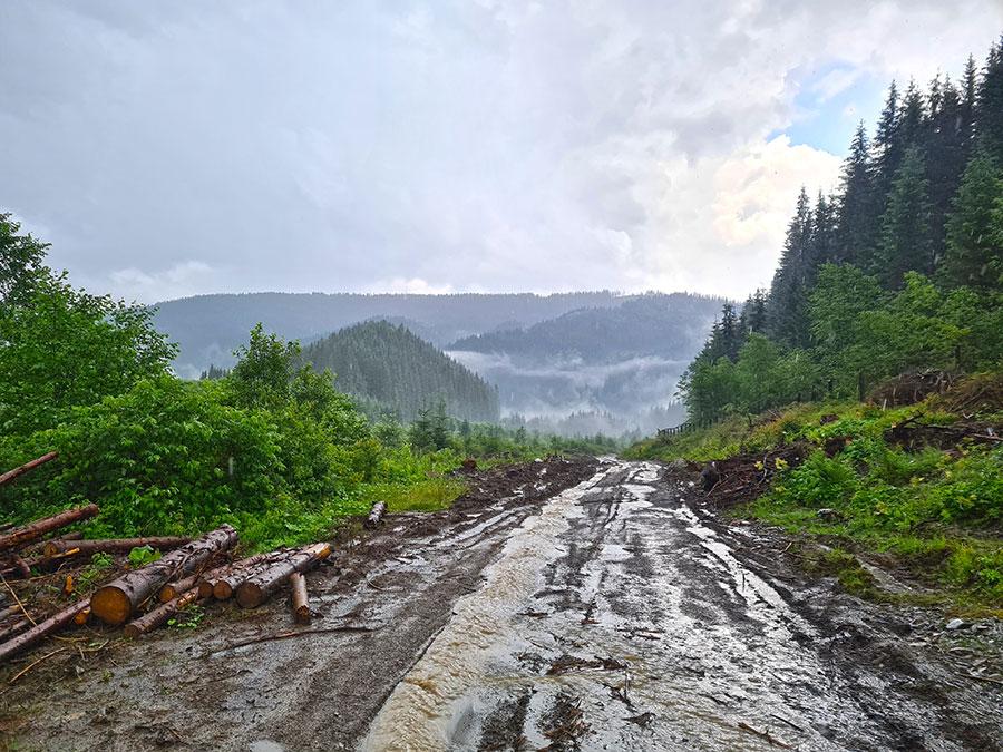 В горах после грозы
