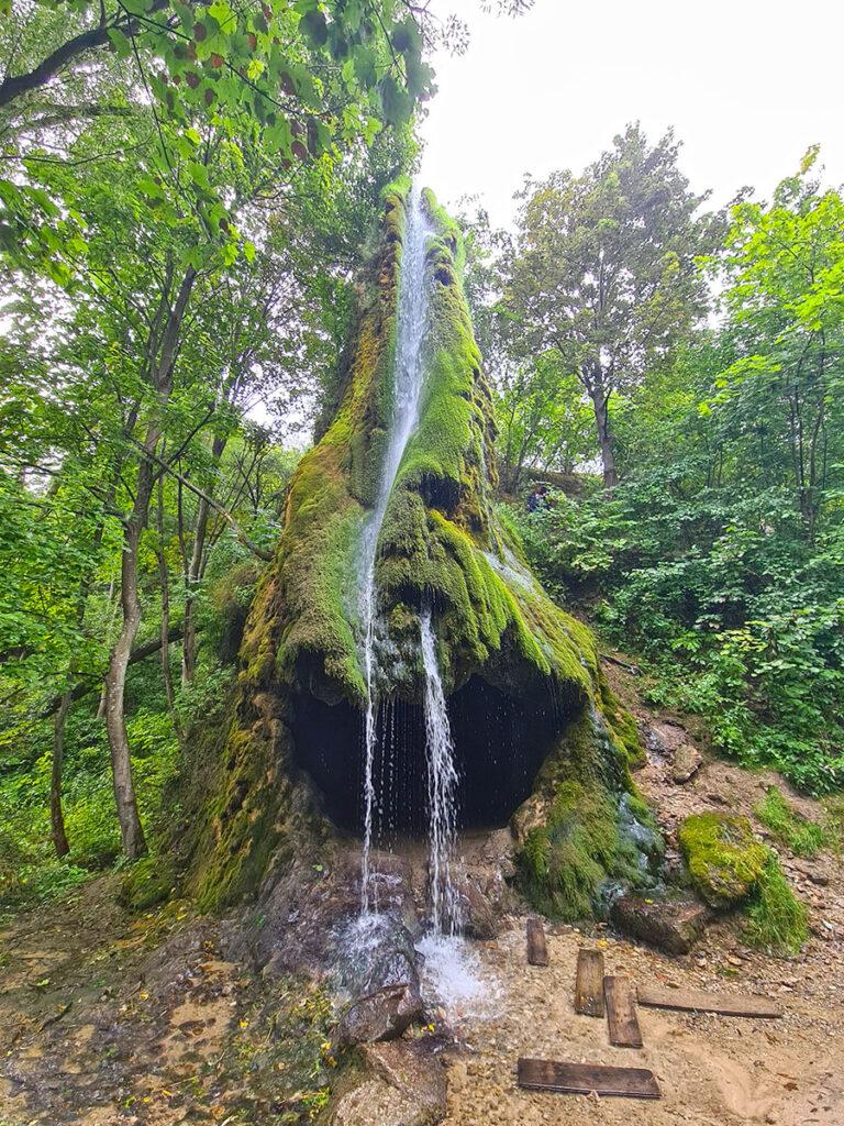 Малиевецкий водопад на реке Ушечка