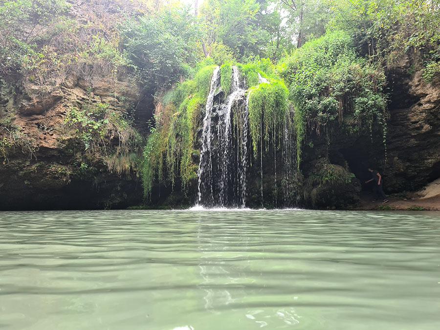 Водопад Бурбун