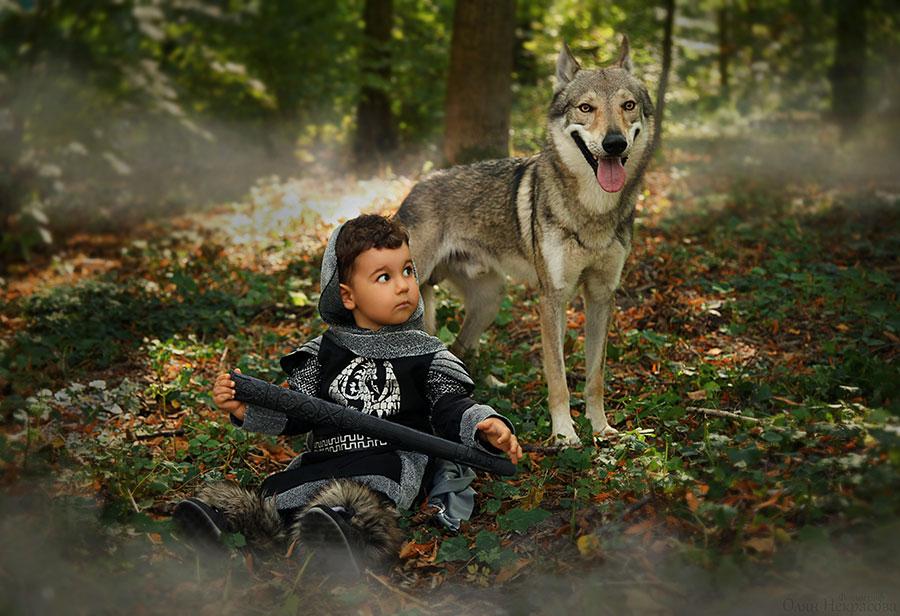 Волк и перс