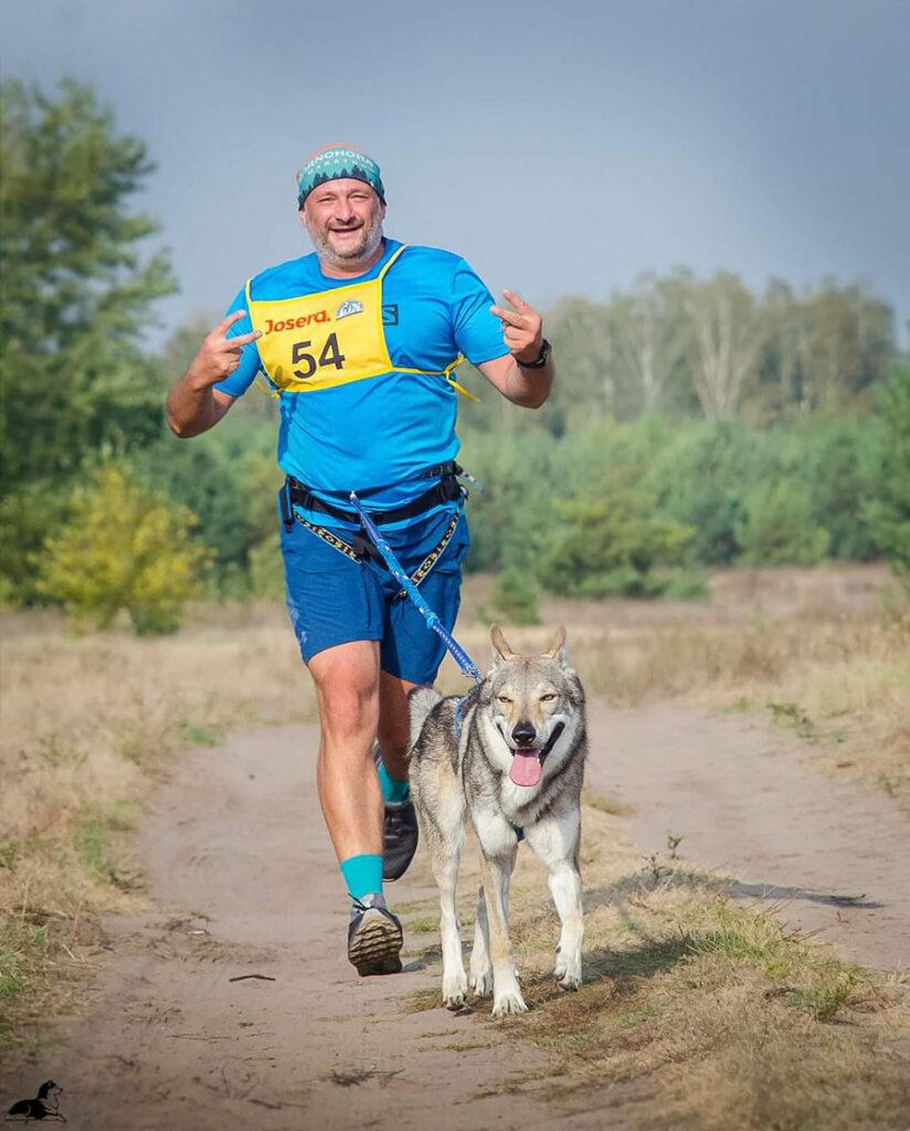 DCM - каникросс, 1 собака, мужчины