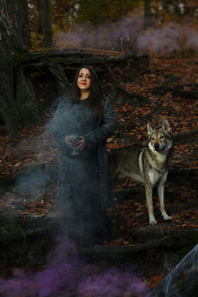Ведьма и ее верный волк