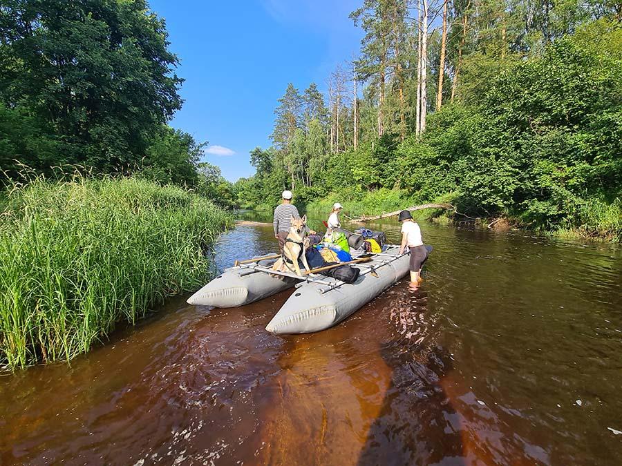 река в Полесье Уборть
