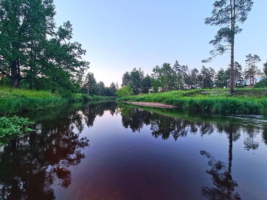 Река в полесье