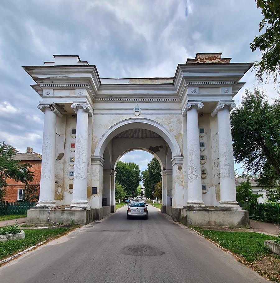 Триумфальная арка в Новгороде-Северском