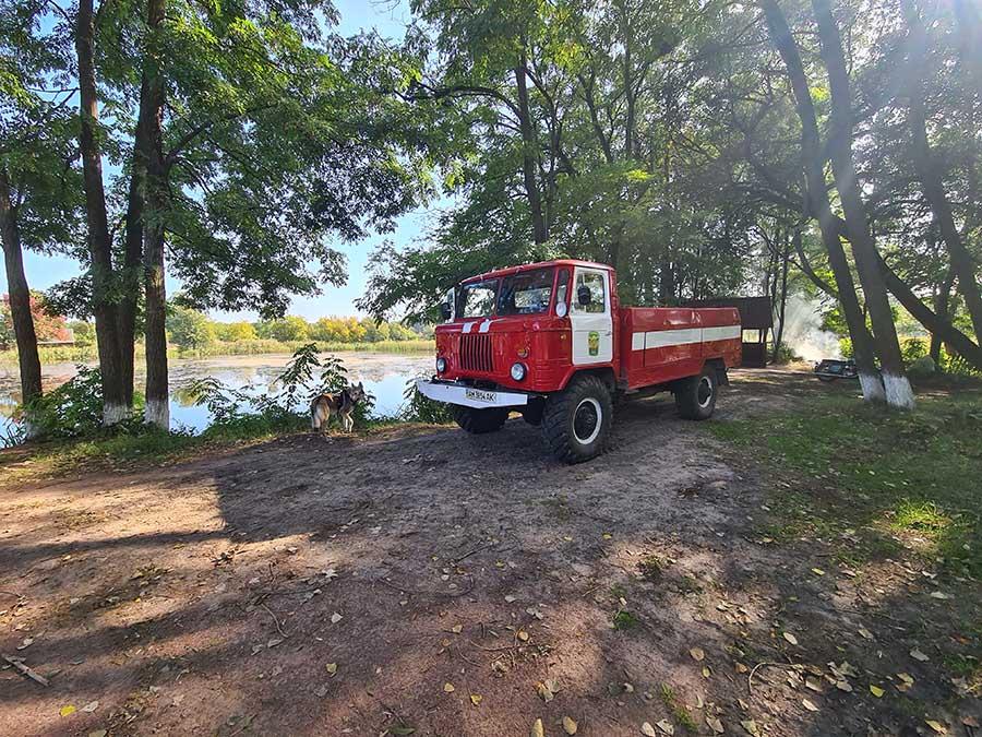 Пожарный автомобиль Шишига